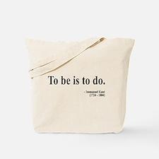 Immanuel Kant 1 Tote Bag