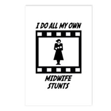 Midwife Stunts Postcards (Package of 8)