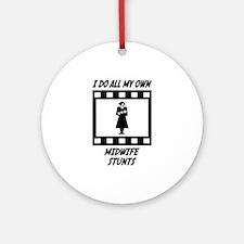 Midwife Stunts Ornament (Round)