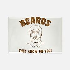 Beards Rectangle Magnet
