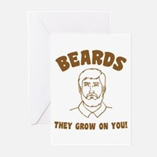 Beards Greeting Cards (Pk of 10)