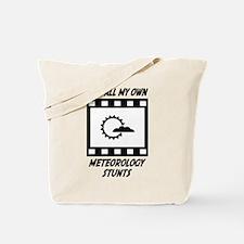 Meteorology Stunts Tote Bag