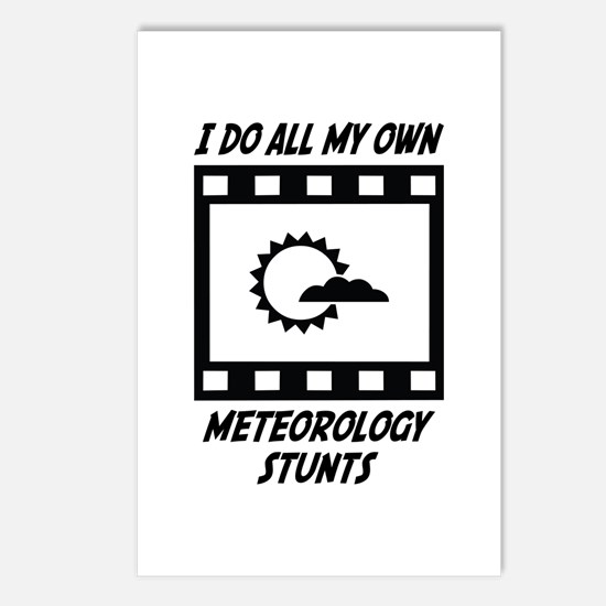 Meteorology Stunts Postcards (Package of 8)