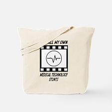 Medical Technology Stunts Tote Bag
