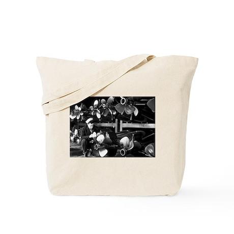 US NAVY TORPEDO ROOM Tote Bag