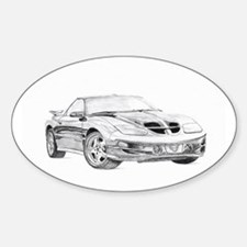 Trans-AM Oval Decal
