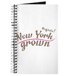 Organic! New York Grown! Journal