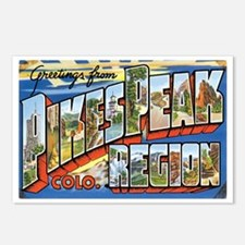 Pikes Peak Colorado CO Postcards (Package of 8)
