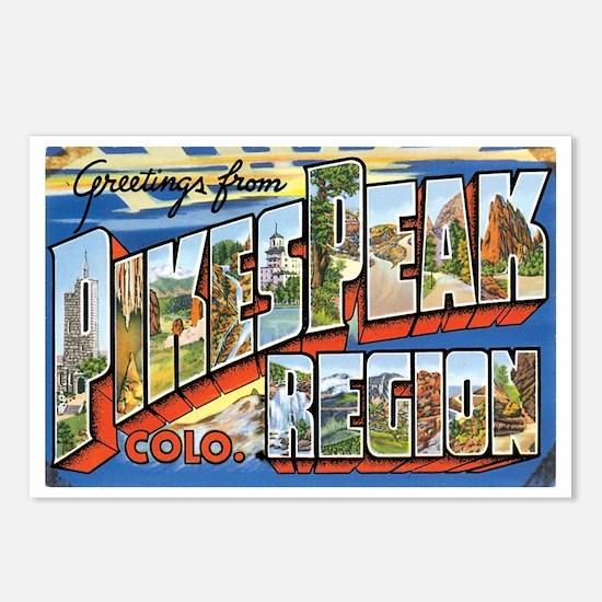Pikes Peak Colorado CO Postcards (Package of 8)