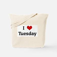 I Love Tuesday Tote Bag