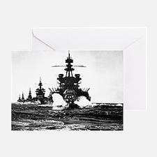BATTLESHIP USS PENNSYLVANIA Greeting Card
