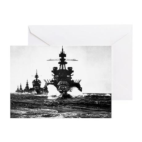 BATTLESHIP USS PENNSYLVANIA Greeting Cards (Pk of