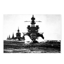BATTLESHIP USS PENNSYLVANIA Postcards (Package of