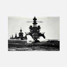 BATTLESHIP USS PENNSYLVANIA Rectangle Magnet (100