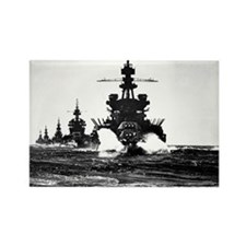 BATTLESHIP USS PENNSYLVANIA Rectangle Magnet