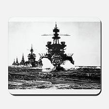 BATTLESHIP USS PENNSYLVANIA Mousepad