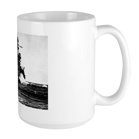 BATTLESHIP USS PENNSYLVANIA Large Mug