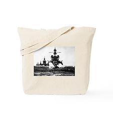 BATTLESHIP USS PENNSYLVANIA Tote Bag