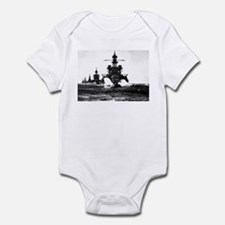 BATTLESHIP USS PENNSYLVANIA Infant Bodysuit