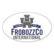 FrobozzCo Oval Decal