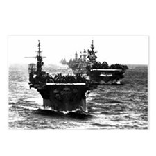 WWII AIRCRAFT CARRIERS Postcards (Package of 8)