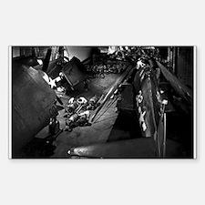 USS YORKTOWN 1943 Rectangle Decal