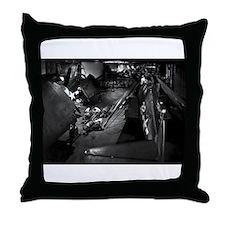 USS YORKTOWN 1943 Throw Pillow