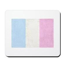 Baby France Spongy Flag Mousepad