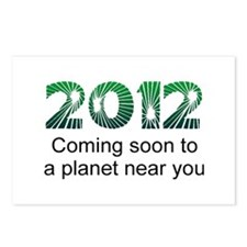 2012 Coming Soon Postcards (Package of 8)