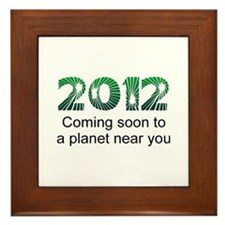 2012 Coming Soon Framed Tile