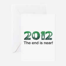 2012 End Is Near Greeting Cards (Pk of 10)