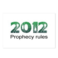 2012 Prophecy Postcards (Package of 8)