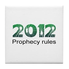 2012 Prophecy Tile Coaster