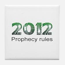 2012 Prophecy Tile Coaster