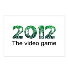 2012 Video Game Postcards (Package of 8)
