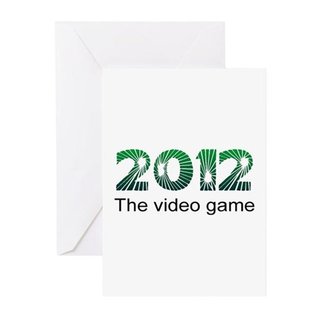2012 Video Game Greeting Cards (Pk of 10)