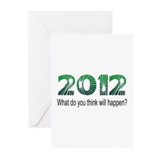 2012 What Will Happen Greeting Cards (Pk of 10)
