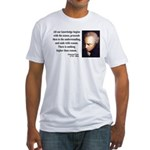 Immanuel Kant 2 Fitted T-Shirt