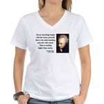 Immanuel Kant 2 Women's V-Neck T-Shirt