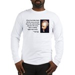 Immanuel Kant 2 Long Sleeve T-Shirt