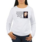 Immanuel Kant 2 Women's Long Sleeve T-Shirt
