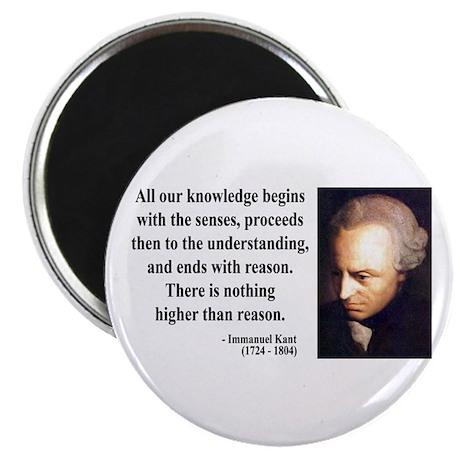 Immanuel Kant 2 Magnet