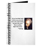 Immanuel Kant 2 Journal