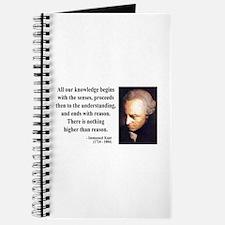 Immanuel Kant 2 Journal