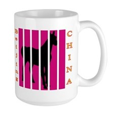 Beijing China Black Horse Mug