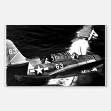 Helldiver Diver Bomber Rectangle Decal