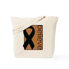 Copper (Believe) Ribbon Tote Bag