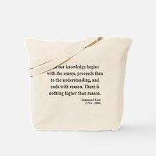 Immanuel Kant 2 Tote Bag