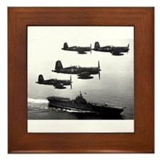 F4U-4 Corsiars Fighters Framed Tile