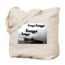 F4U-4 Corsiars Fighters Tote Bag
